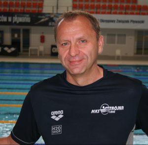 Trener Tomasz Melka