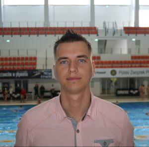Trener Maciej Młynarczyk